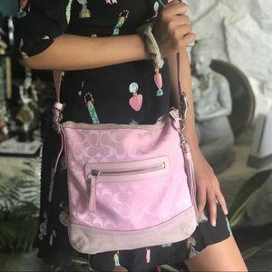 Baby Pink Coach Bag